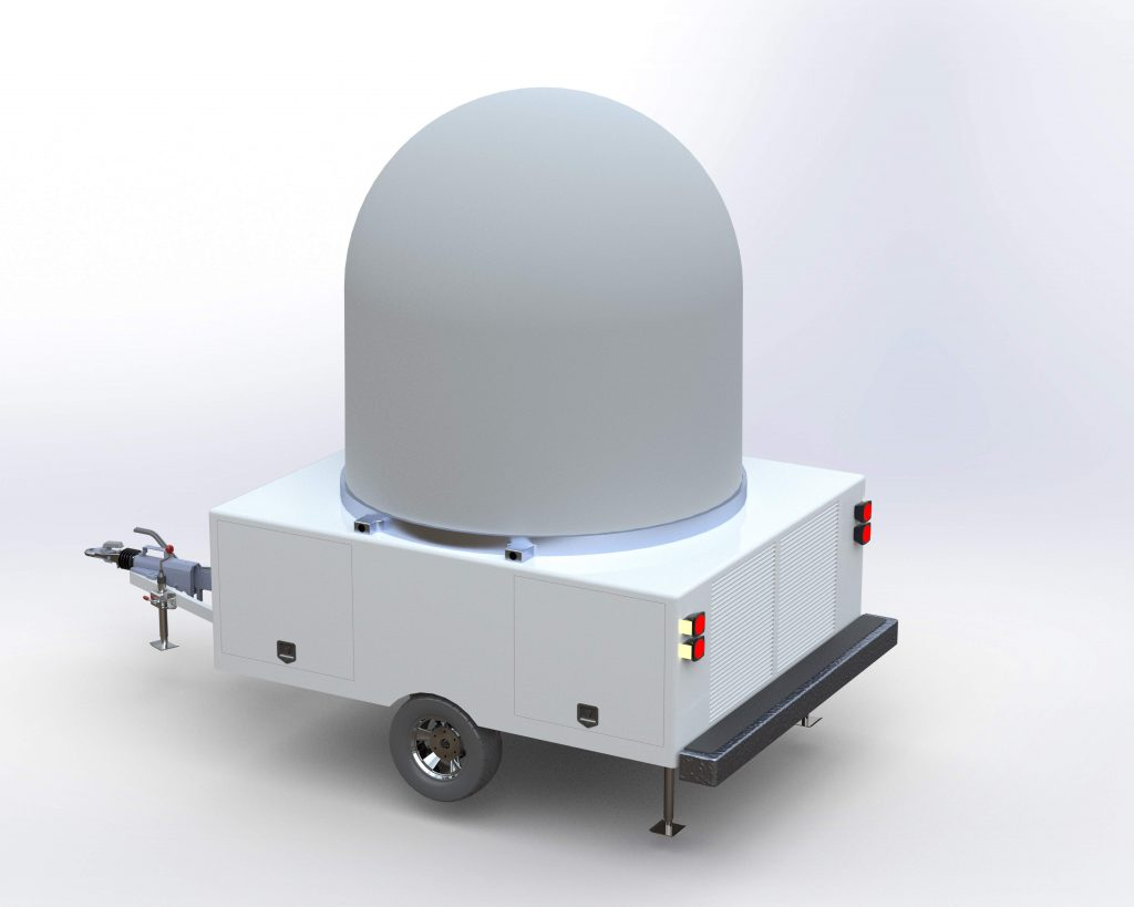 SINGLE AXLE RADAR TRAILER