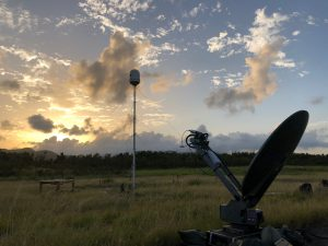 E700 Weather Radar System in field