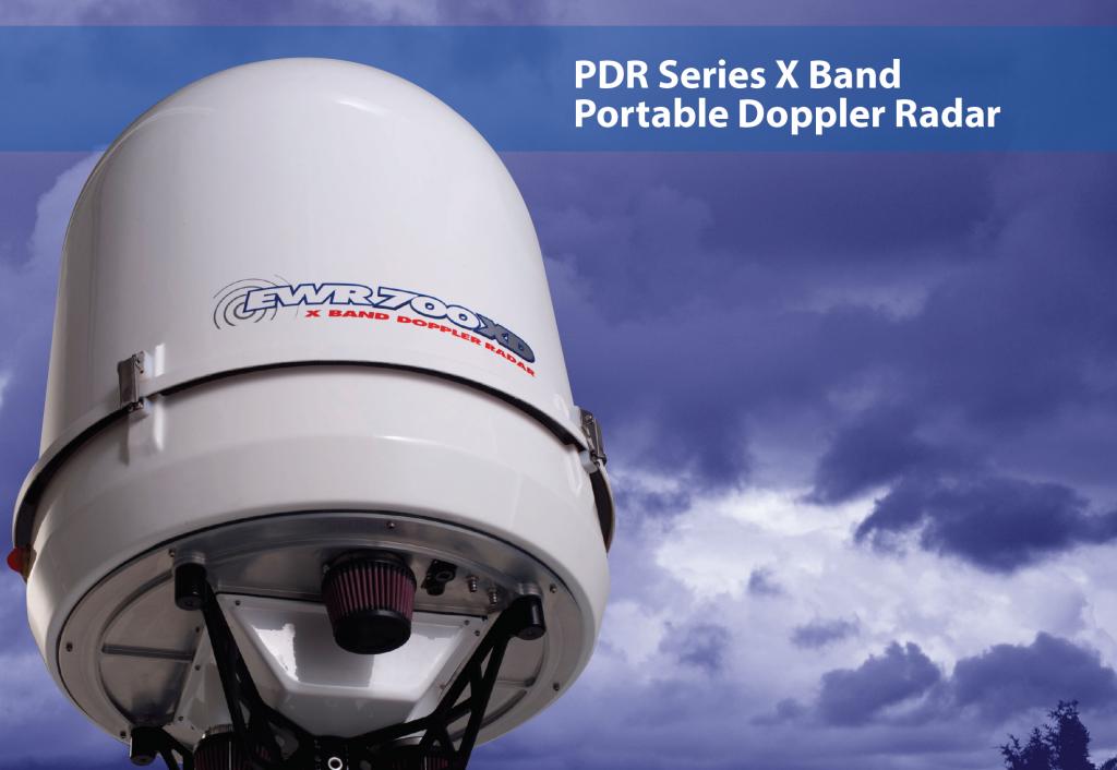 E700 X Band Portable Doppler Radar EWR