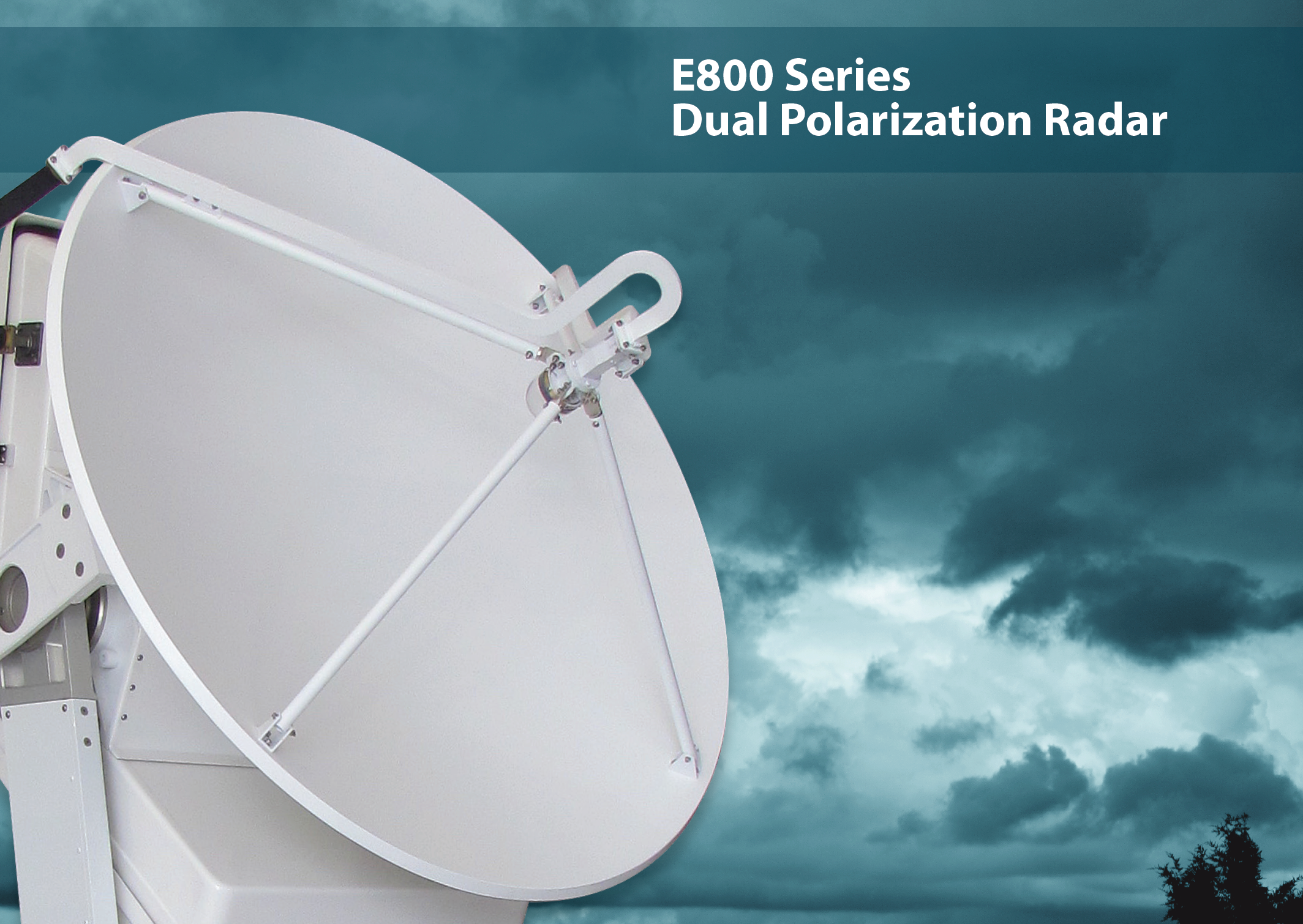 E800 Dual Polarization Radar EWR