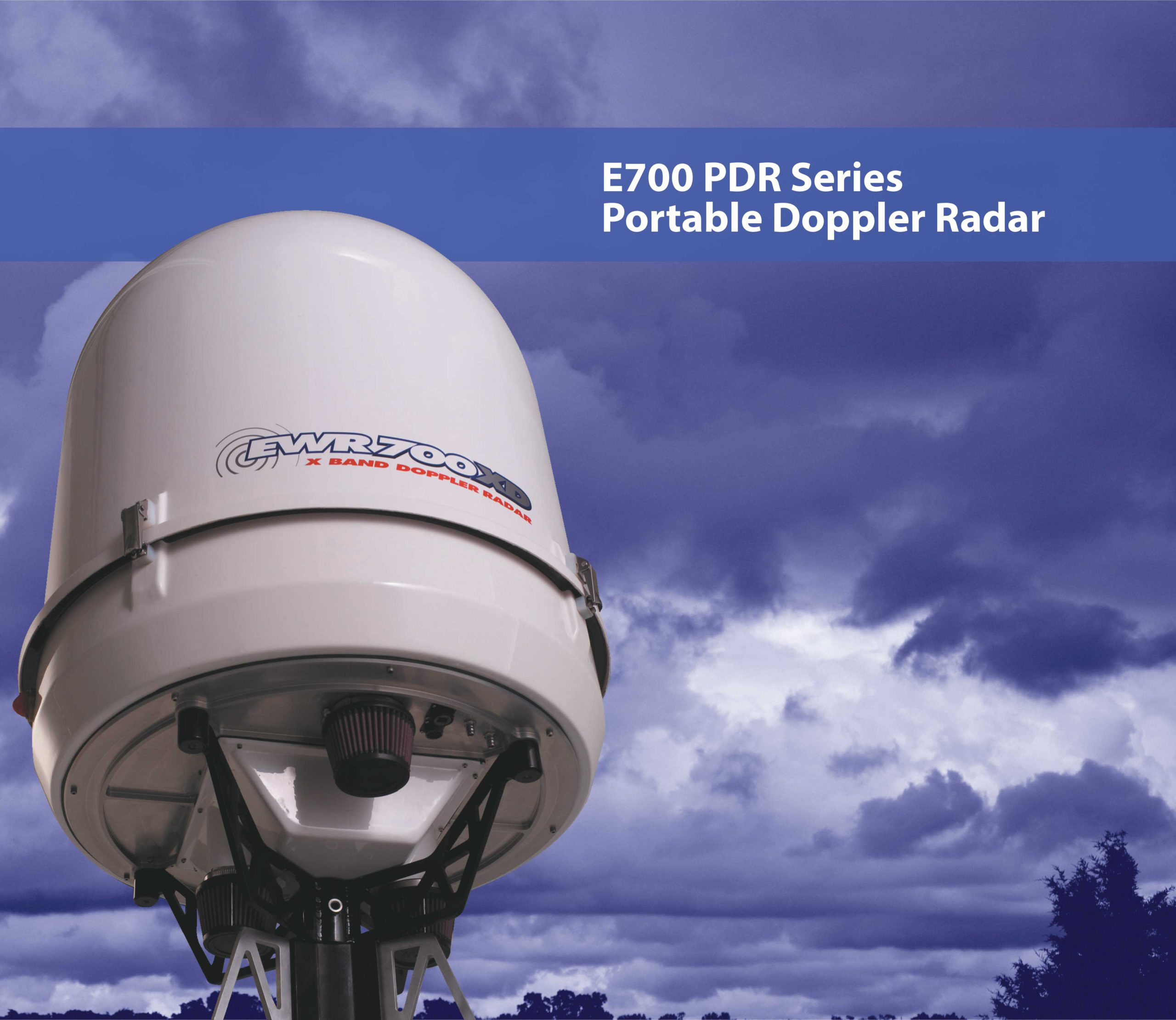 E700 PDR Series Portable Doppler Radar
