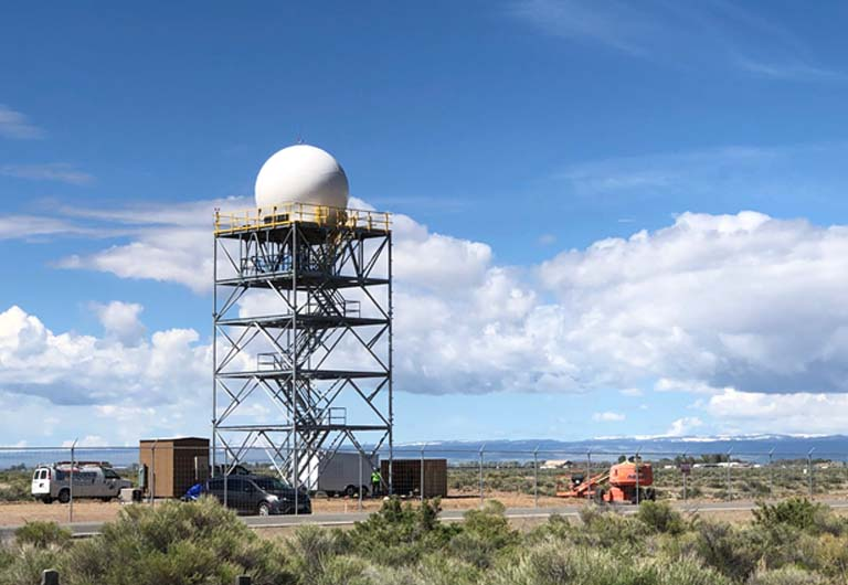 Large Collaboration Brings Doppler Radar Coverage